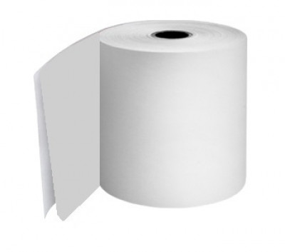 57 x 55 x 12.7mm Core 2 Ply Action Rolls White/White Boxed 20s - 047