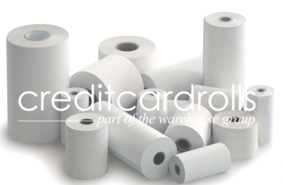 Consolis ICT250 (Flat Back) Credit Card Rolls - 143 Consolis ICT250 (Flat Back) Credit Card Rolls