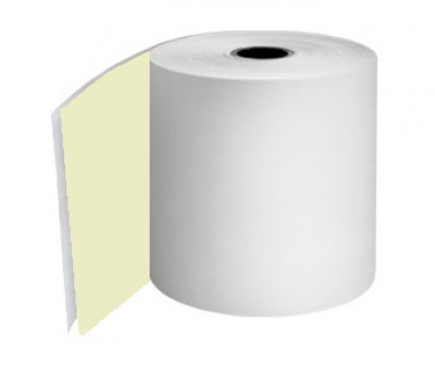 57 x 57 x 12.7mm Core 2 Ply Rolls White/White Boxed 20s - 051