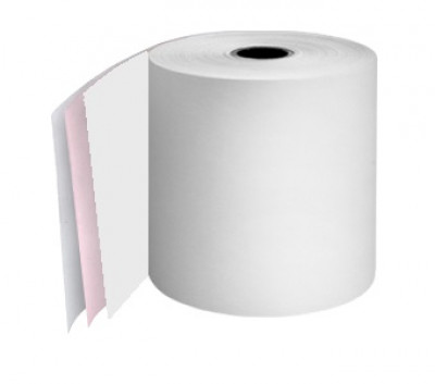 76mm 3 Ply Rolls White/Pink/White Boxed 20s - 063