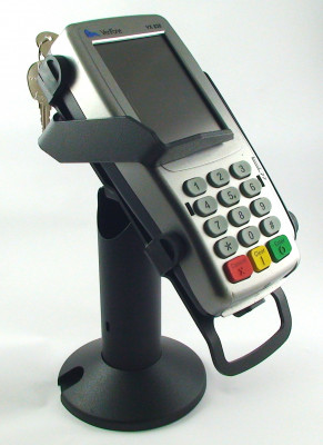 Verifone VX820 Tilt & Swivel Mount Black Steel With Lock - TCSMPP820L